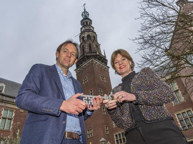 Verbouwing stadhuis Leiden van start