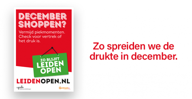 Zo blijft Leiden open