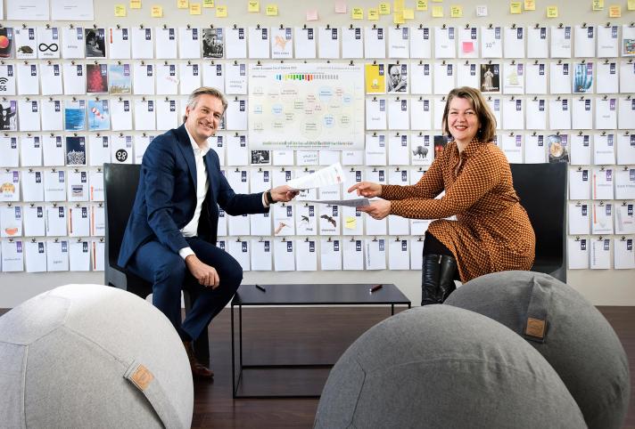 Leiden2022 sluit eerste Europese partnerschap met bedrijf Proact