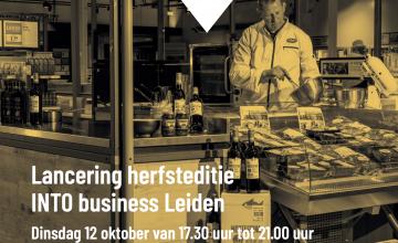 Lancering INTO business Leiden