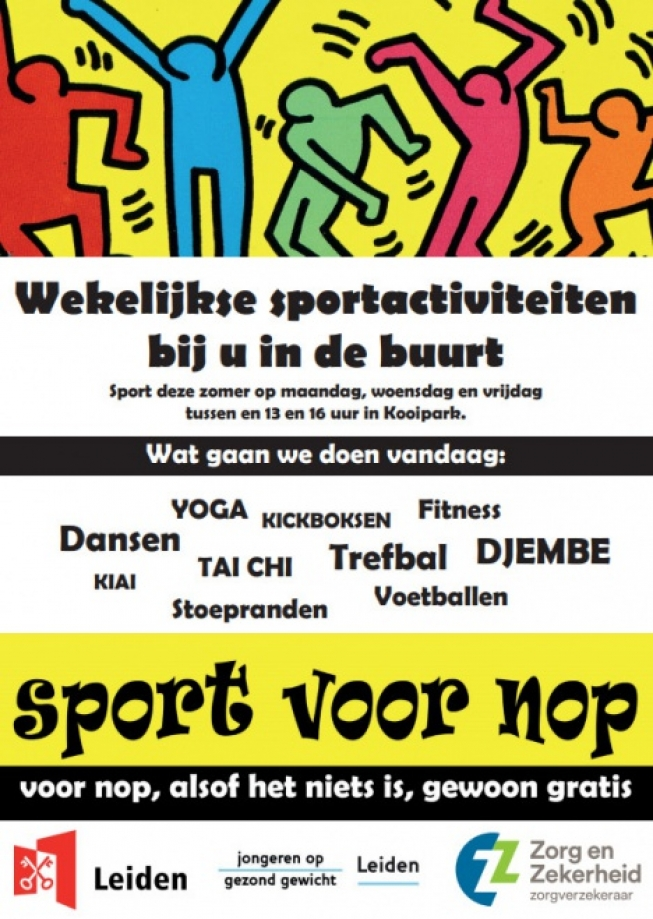 'Sport voor Nop' : vóór jongeren, dóór jongeren